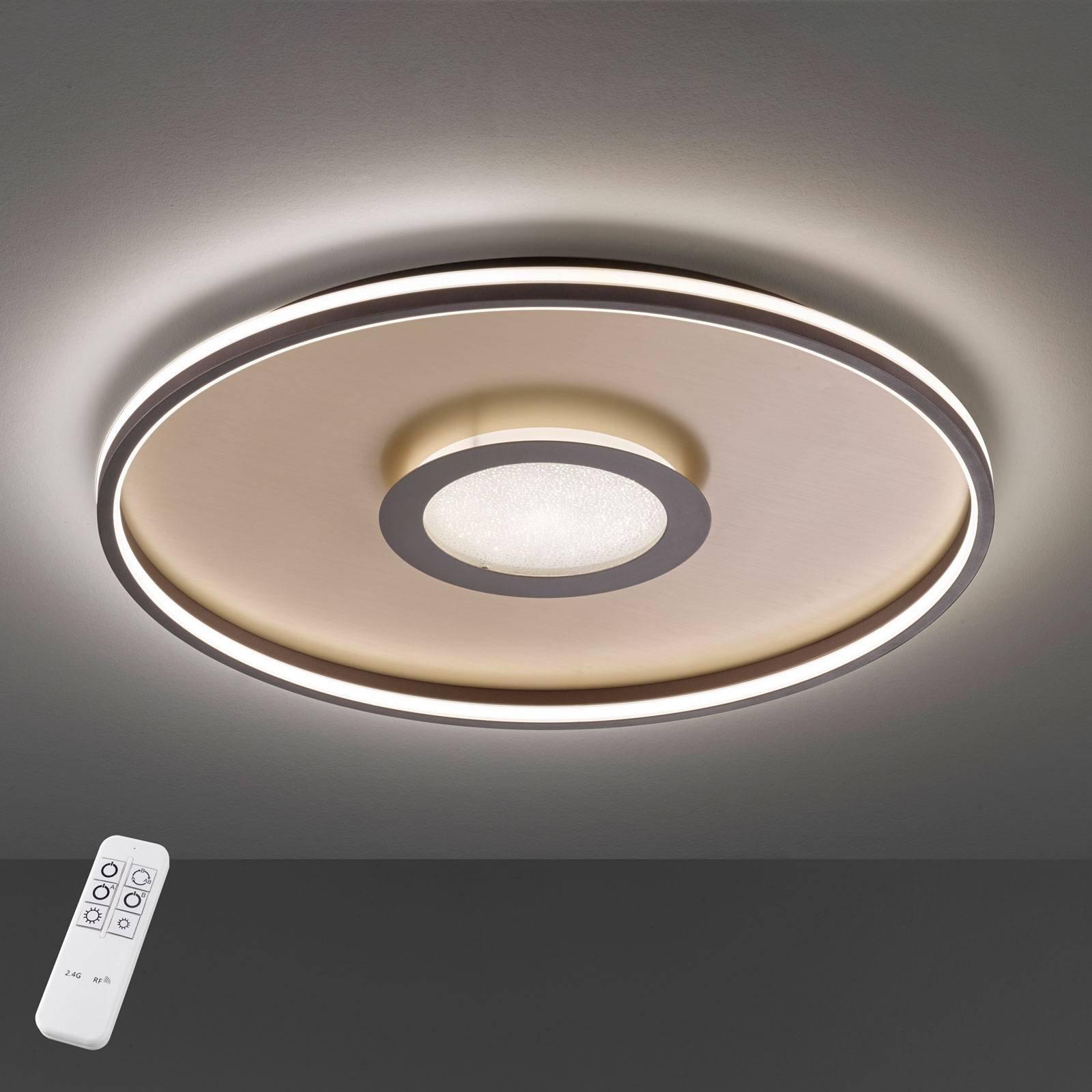 Bug LED-taklampe rund, rust 60 cm