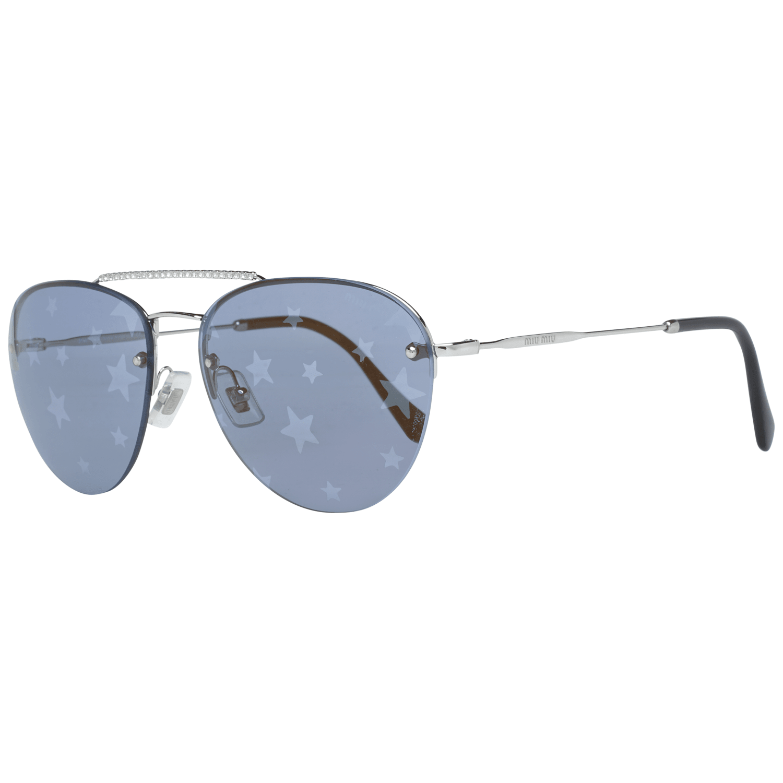 Miu Miu Women's Sunglasses Silver MU54US 1BC18259
