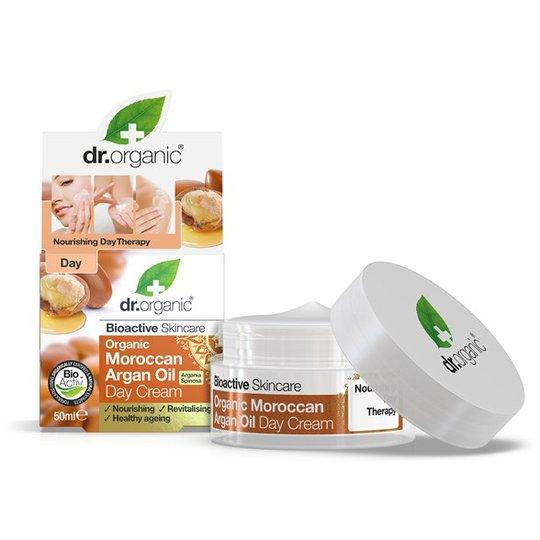 Dr. Organic Moroccan Argan Oil Day Cream, 50 ml