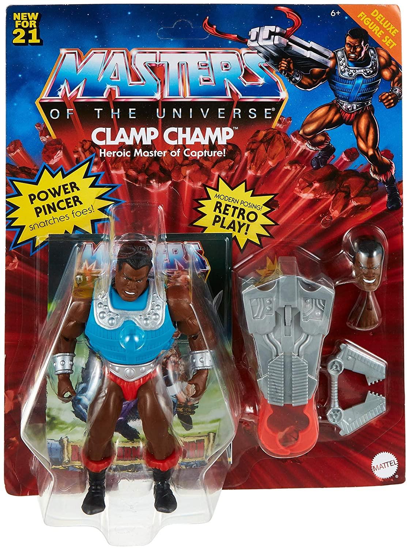 Masters Of The Universe - Origins 14 cm Deluxe Figure - Clamp Champ (GVL79)