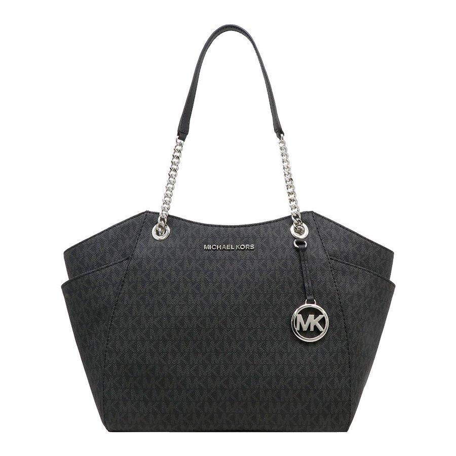 Michael Kors Women's Jet Set Large Tote Bag Black MK29400