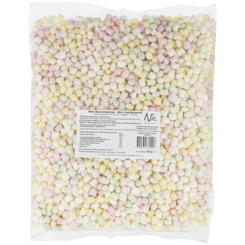 """Godis """"Mini Marshmallows"""" 500g - 51% rabatt"""