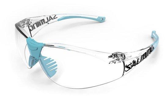 Salming Split Vision Eyewear JR, Light Blue