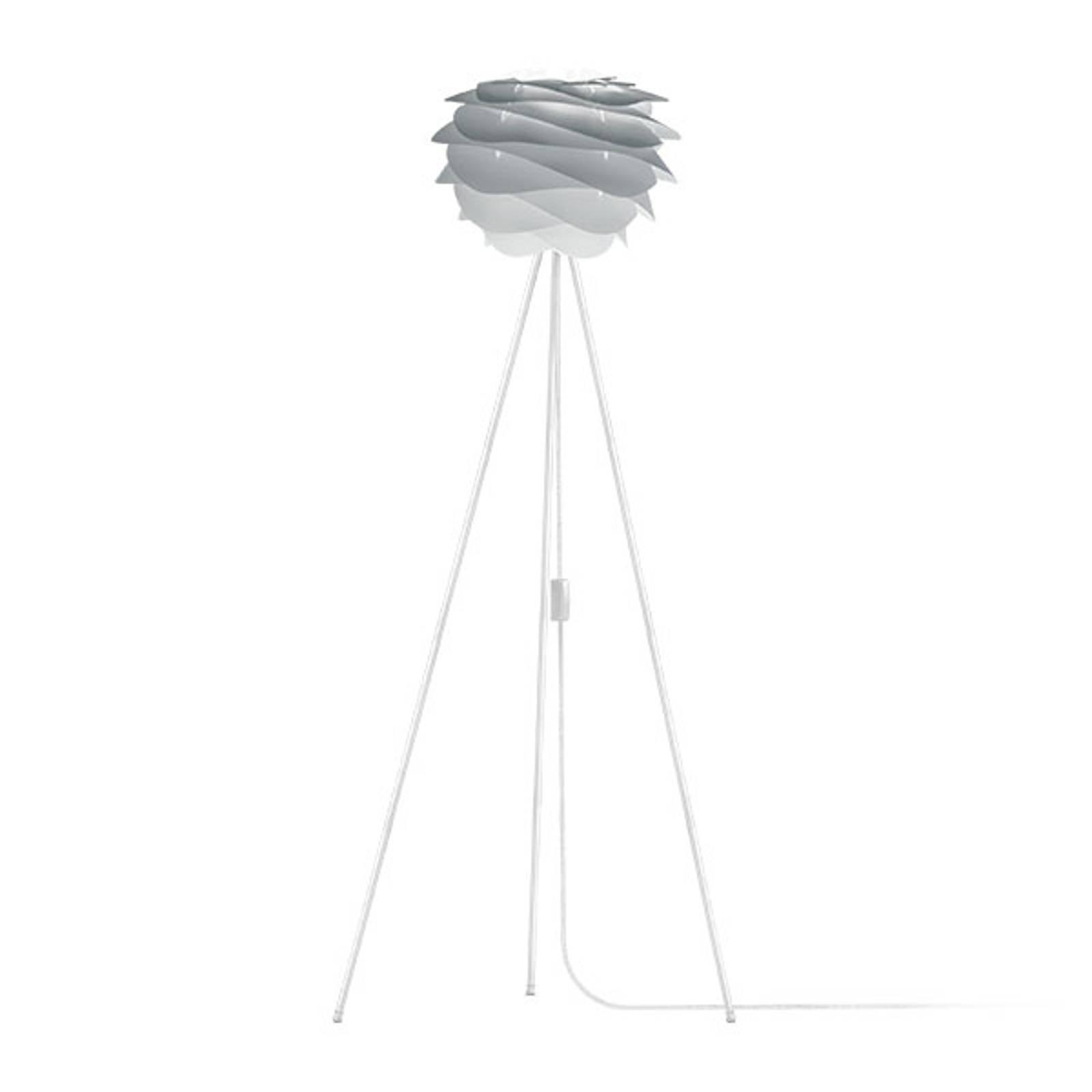 UMAGE Carmina Mini gulvlampe grå/tripod hvit