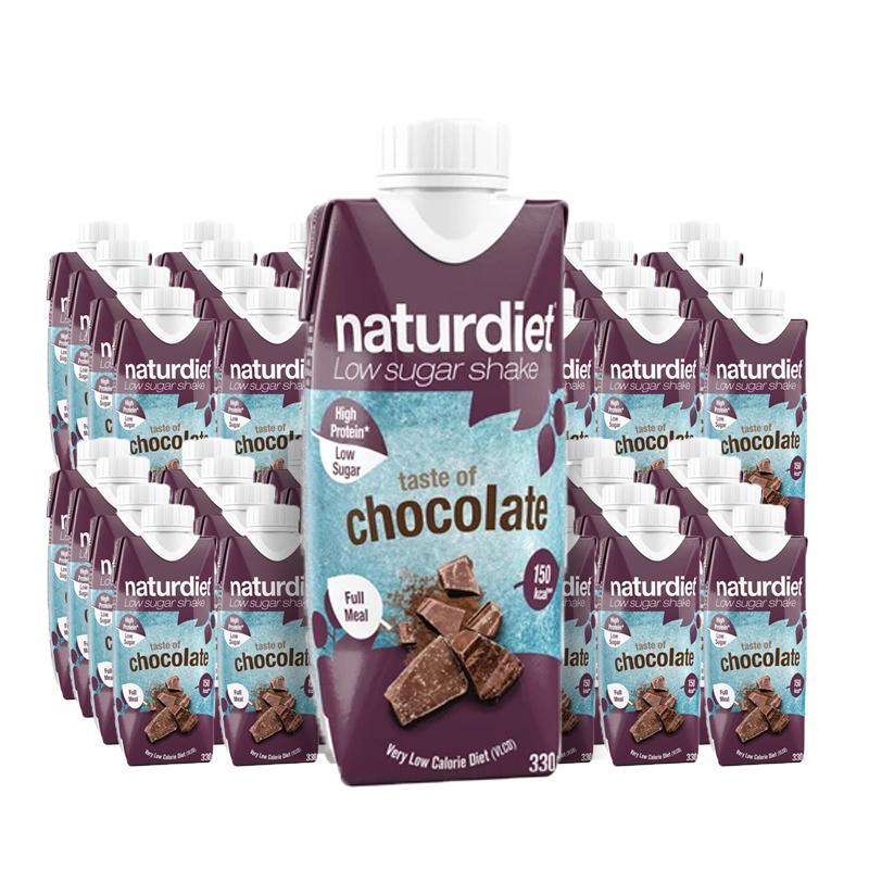 Måltidsersättning Shake Chocolate 48-pack - 28% rabatt