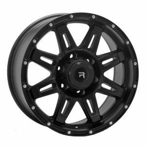 R-Series R5 Black 8x17 5/120 ET40 B65.1