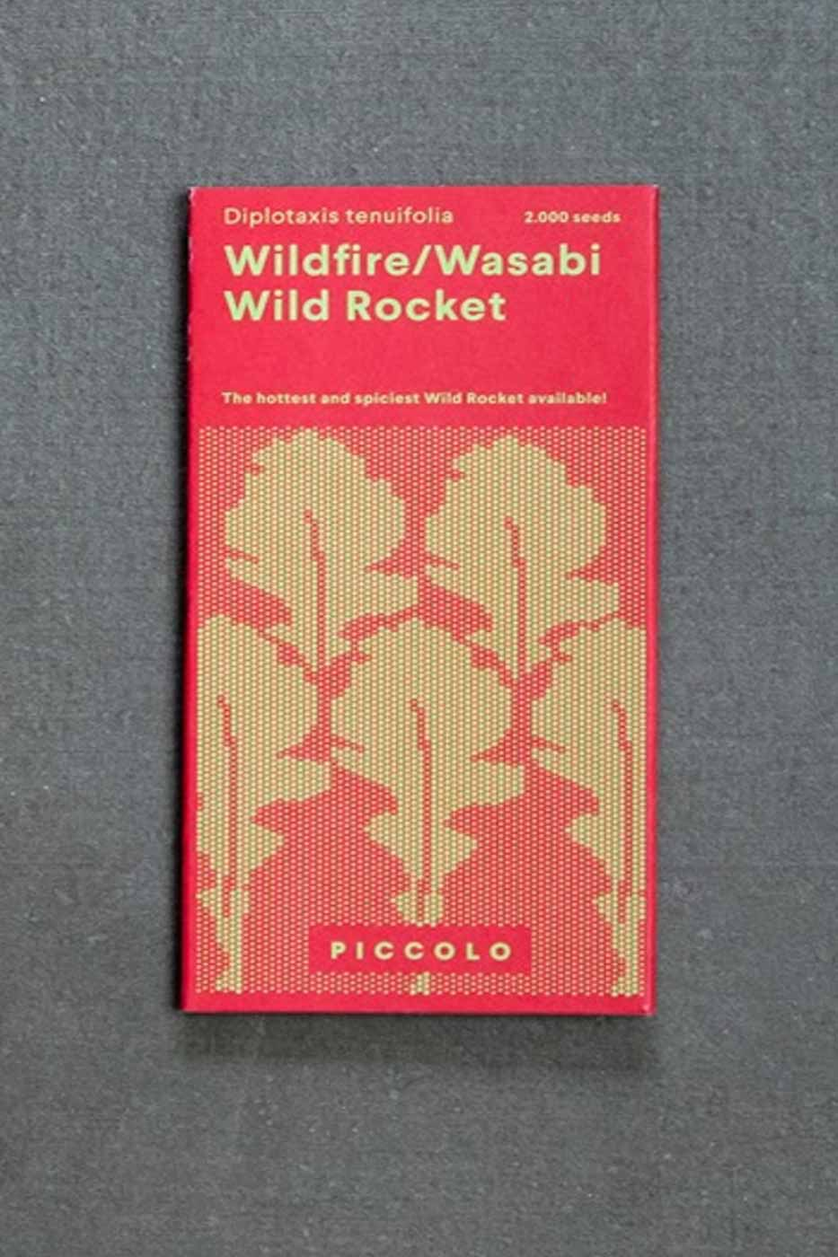 Fröpåse Wild Rocket Wildfire/Wasabi