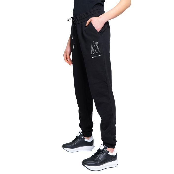 Armani Exchange Women's Trouser Black 190481 - black XS