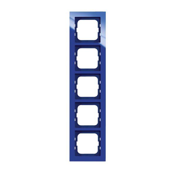 ABB Axcent Kombinasjonsramme blå 5 rom