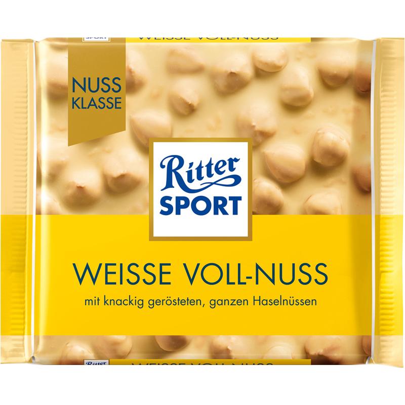 Vit Choklad Hasselnötter 100g - 20% rabatt