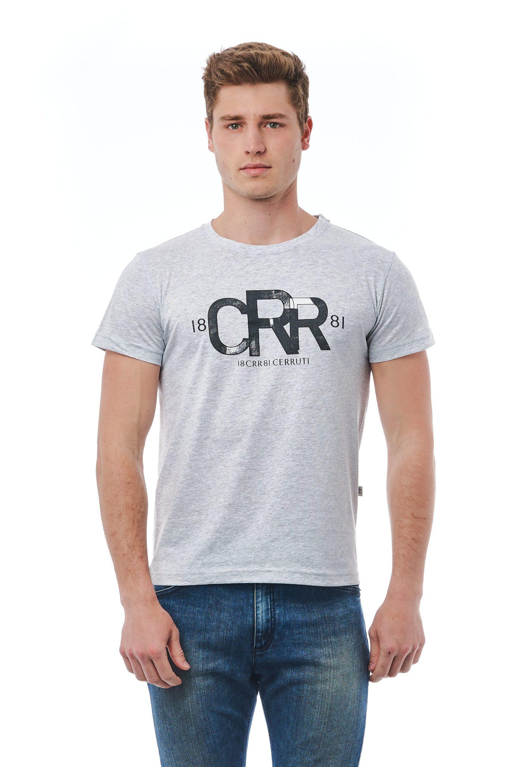 Cerruti 1881 Men's Grich Lt Grey T-Shirt Gray CE1409882 - M