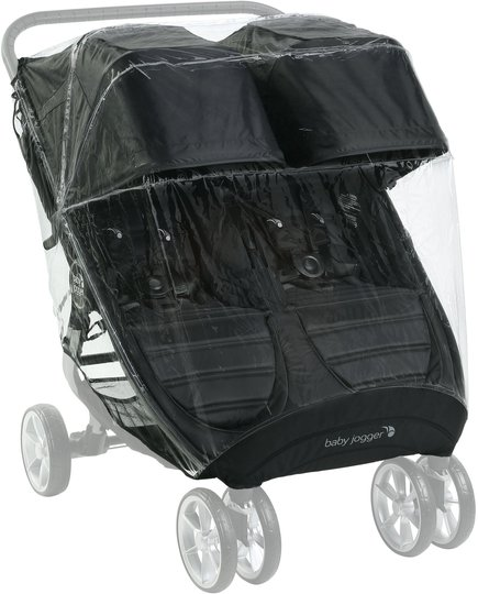 Baby Jogger CM 2/Mini GT 2 Regntrekk Dobbel
