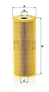 Öljynsuodatin, MERCEDES-BENZ T2/L Flak/chassi, T2/L Skåp, 001 184 42 25, 001 184 43 25, 001 184 52 25, 001 184 55 25, 352 180 01 09, 366