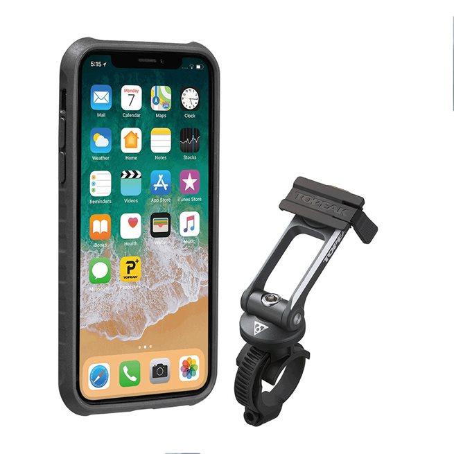 Topeak Ridecase Iphone X, Mobilväska, Quickclick