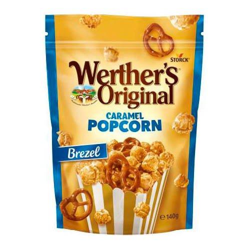 Werthers Popcorn Brezel Påse