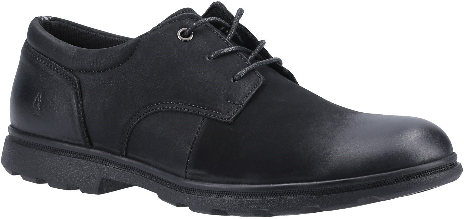 Hush Puppies Men's Trevor Lace Derby Shoe Various Colours 31243 - Black 6