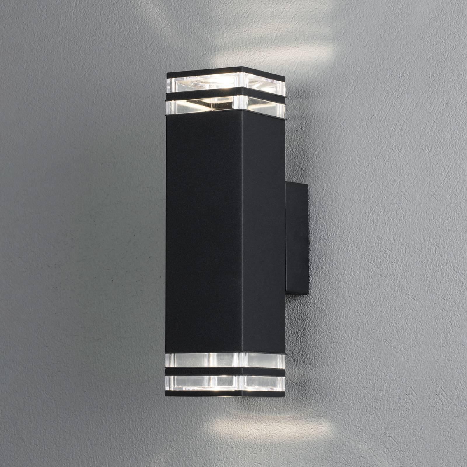 Monza utendørs vegglampe 2-lk., høyde 27,5 cm