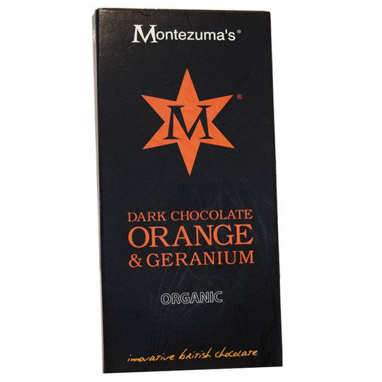 Mörk Chokladkaka Apelsin & Geranium - 52% rabatt