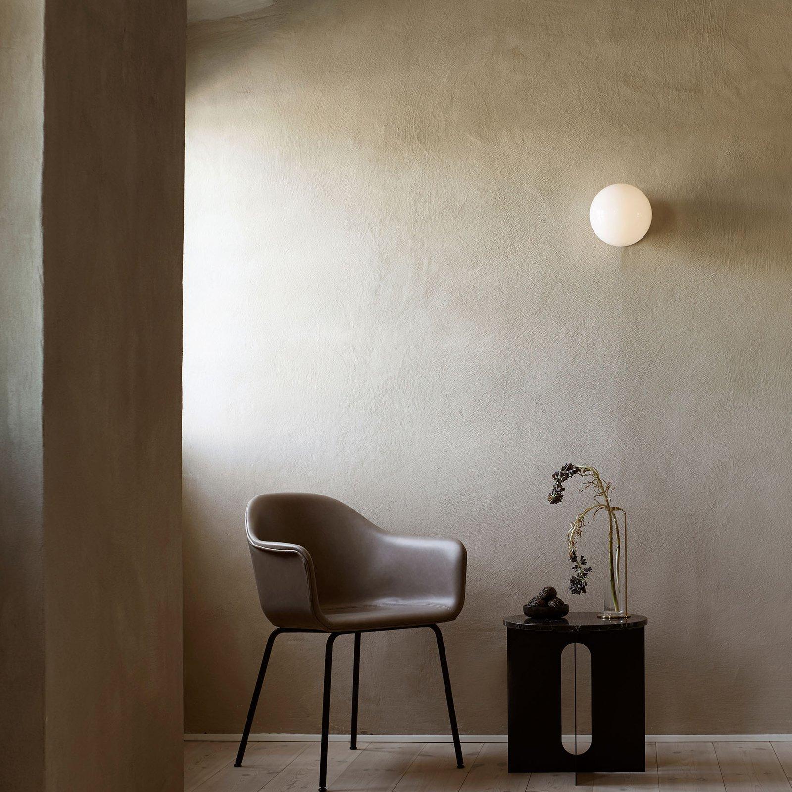 Menu TR Bulb DTW LED-taklampe svart/opal blank