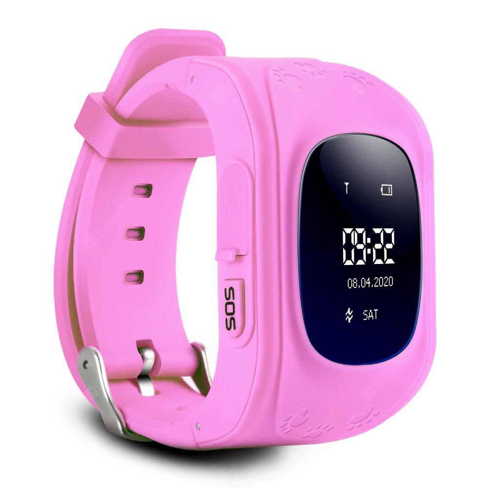 GPS Child Tracker Watch - Pink (04090.PINK)