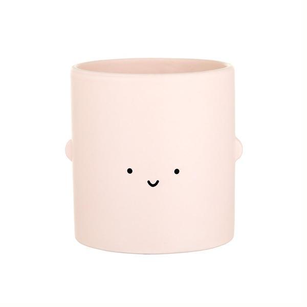 Cream Smile Toki Plant Pot