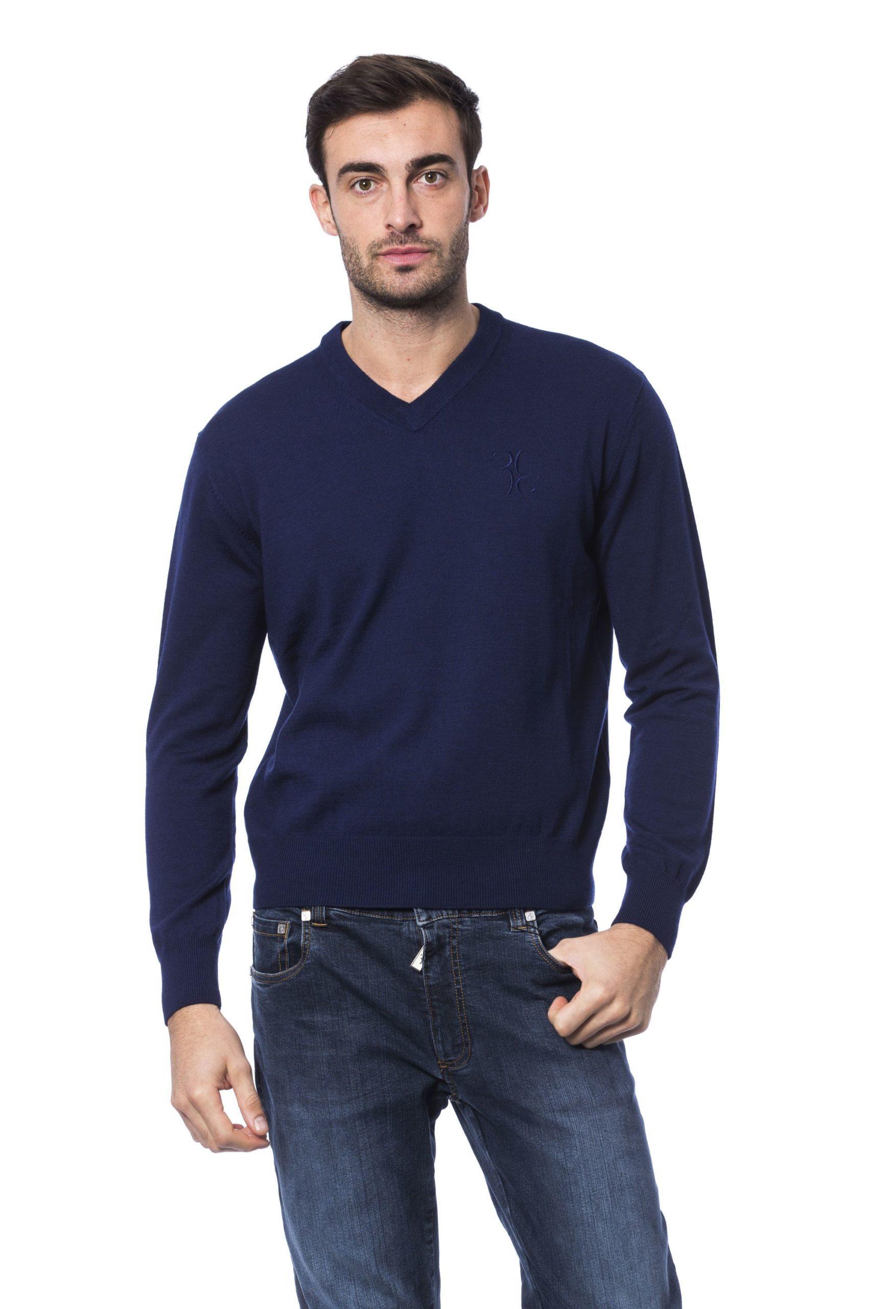 Billionaire Italian Couture Men's Sweater Blue BI1271987 - M