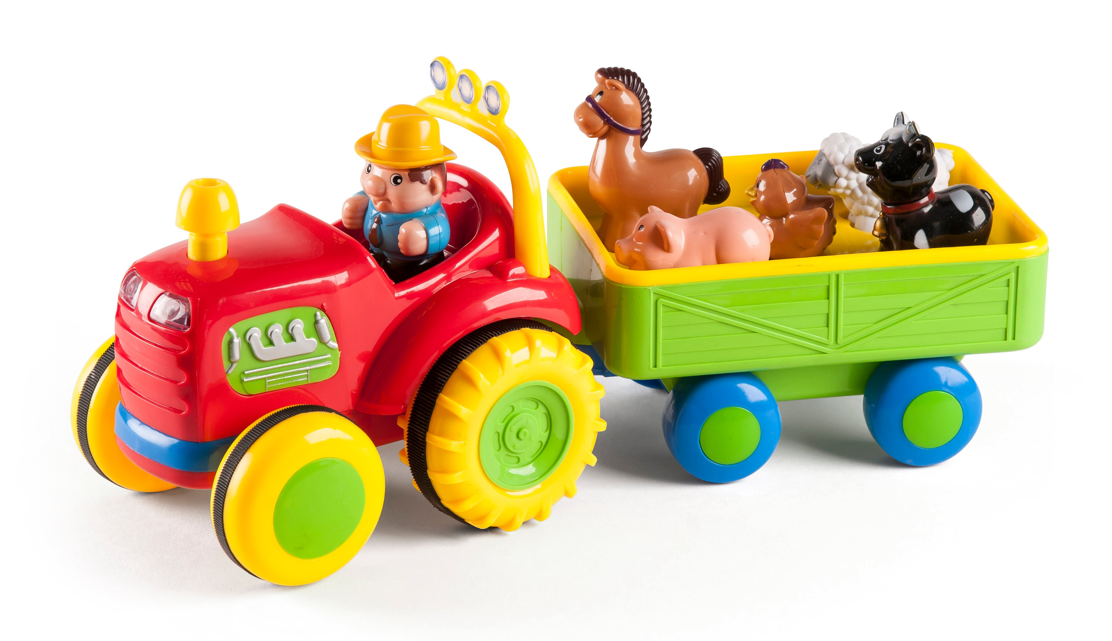 B Beez - Tractor with farm animals (56030)