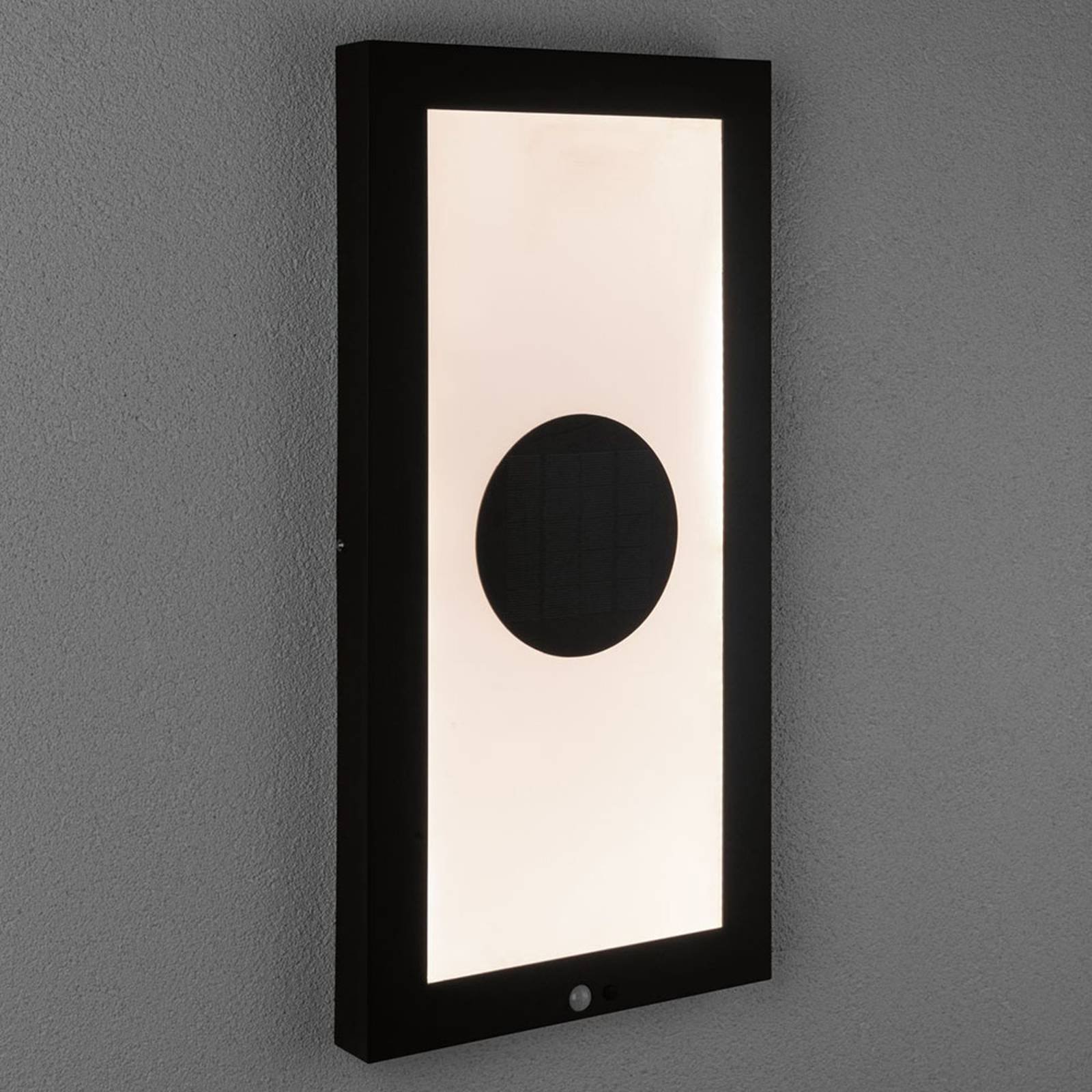 Paulmann LED-solcellepanel Taija sensor 30 x 60 cm