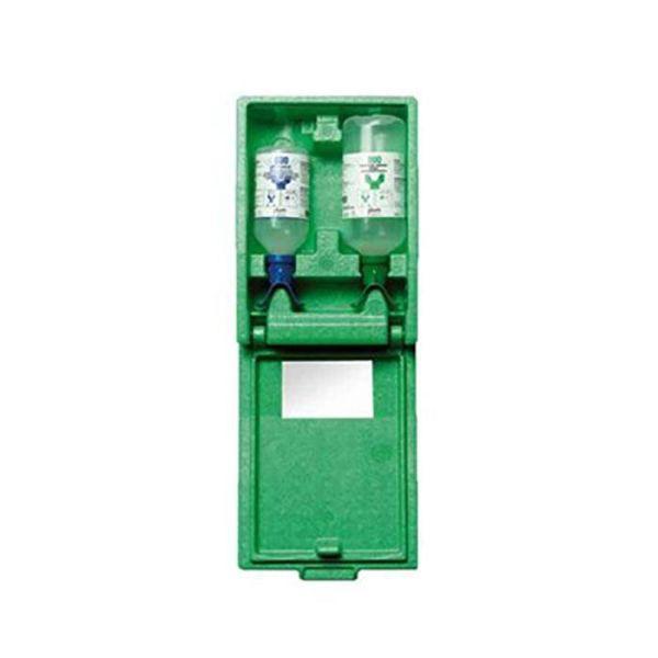 Plum Combibox DUO Maxi Øyeskyllstasjon med pH Neutral og øyesdusj