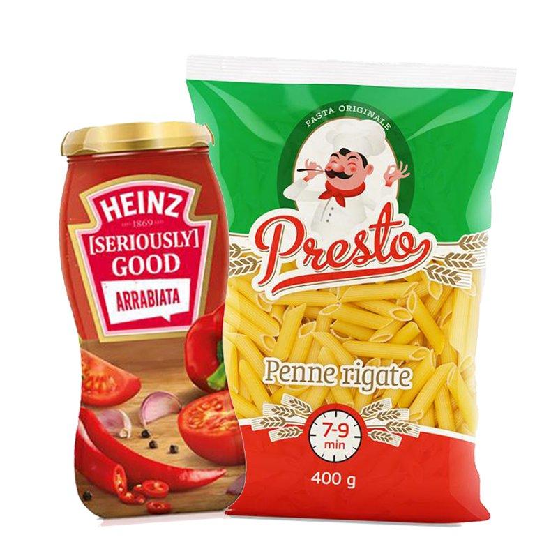 Pastaa & Tomaattikastiketta - 50% alennus