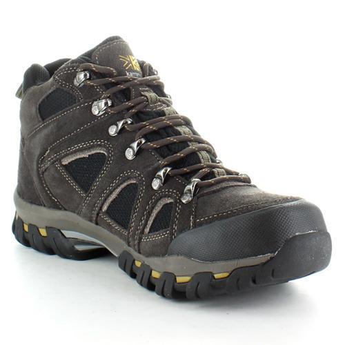 Karrimor Men's Weathertite Mid Rise Waterproof Hiking Boot Various Colours Bodmin Mid 4 - Dark Brown UK-12