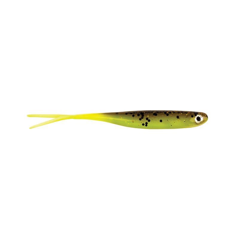 Berkley PowerBait Sneakminnow 7,5cm Brown/Chartreuse