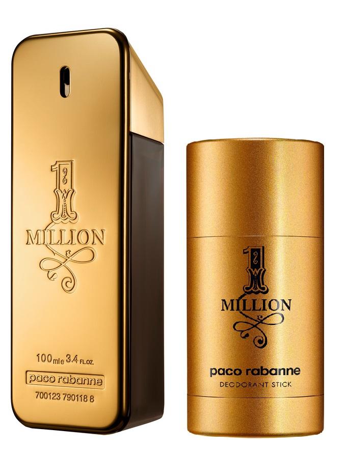 Paco Rabanne - 1 Million EDT 100 ml + Deodorant Stick