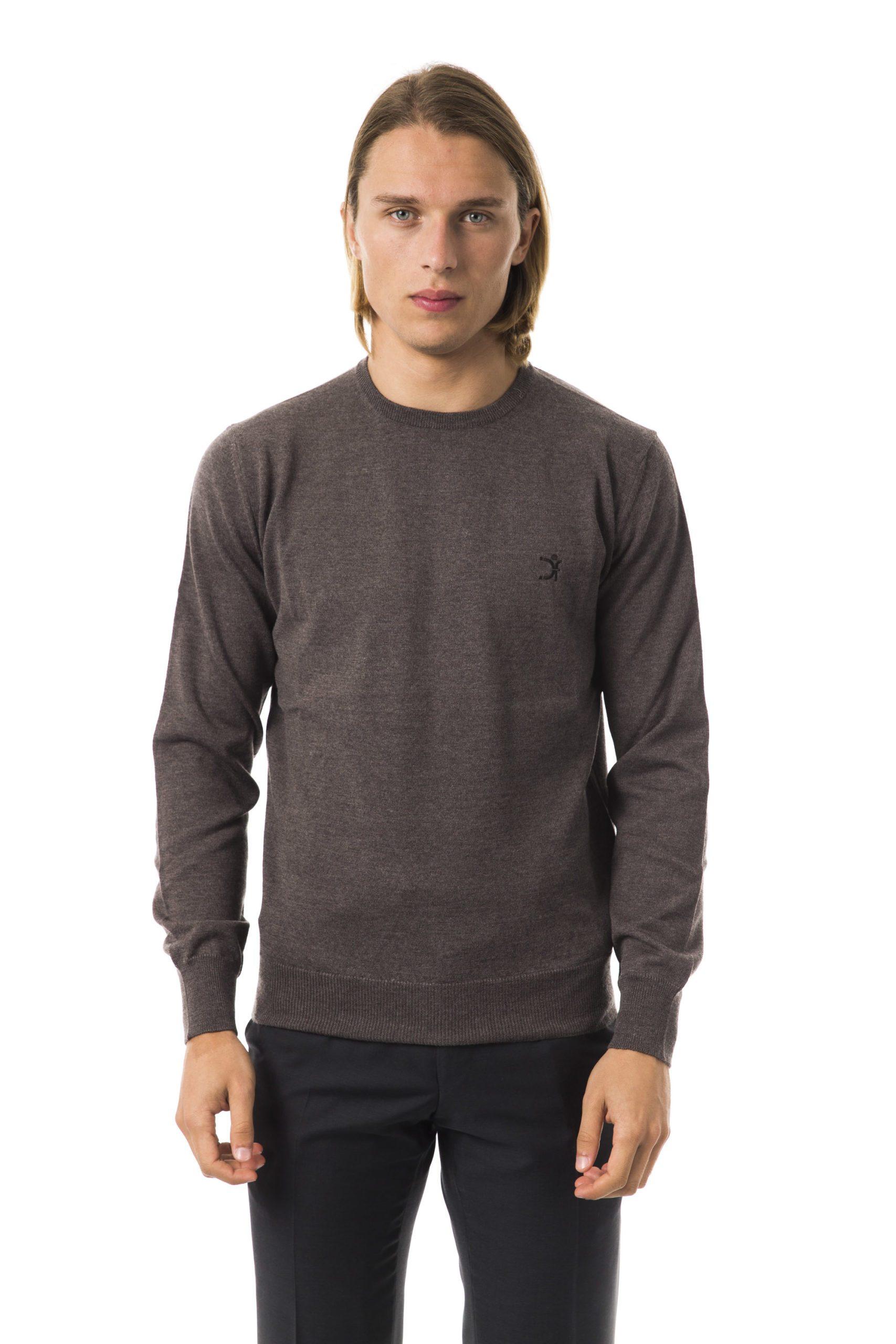 Uominitaliani Men's Noce Sweater Gray UO816624 - L