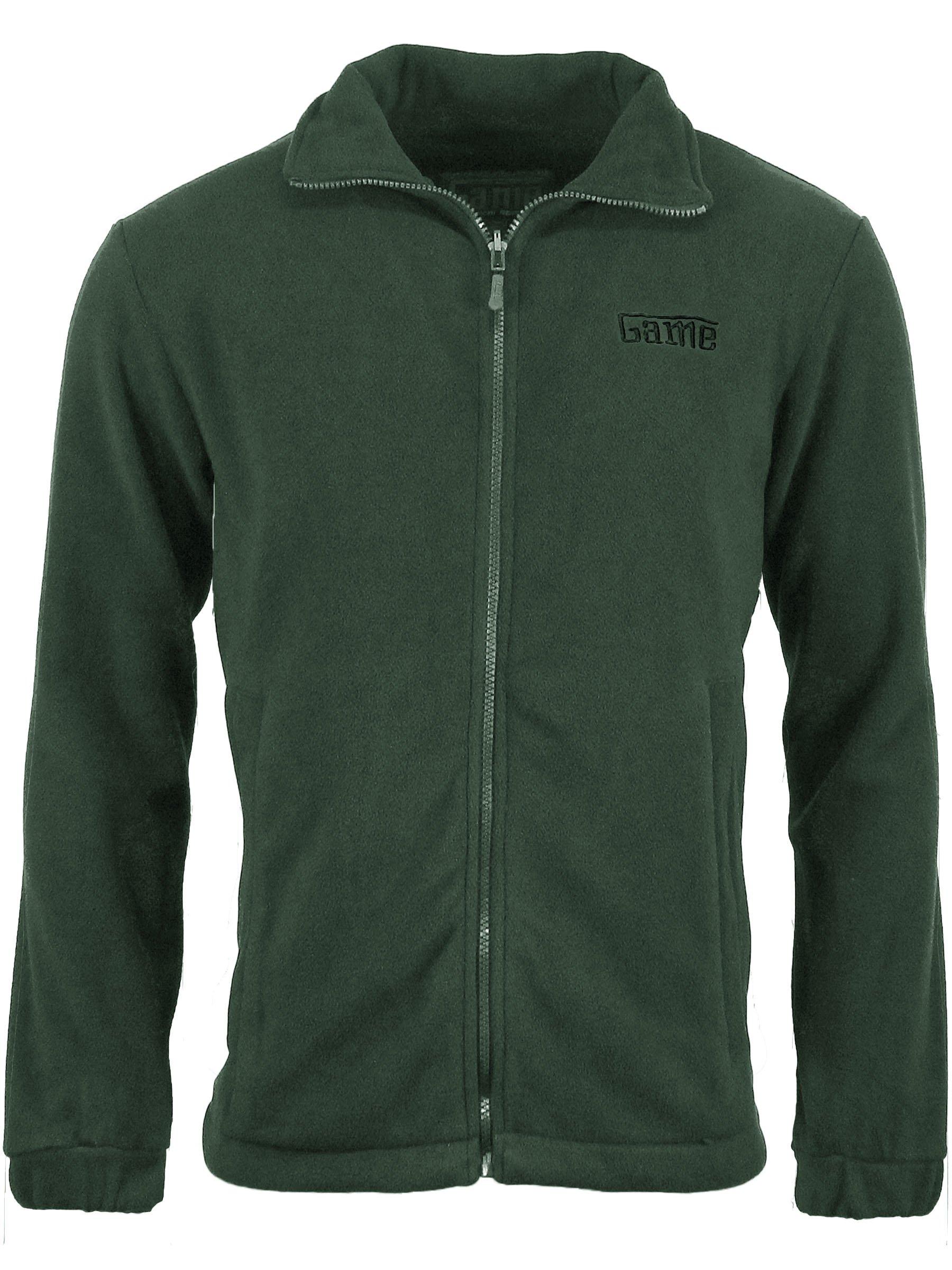 Game Technical Apparel Unisex Jacket Various Colours Stealth Fleece - Slate Grey S