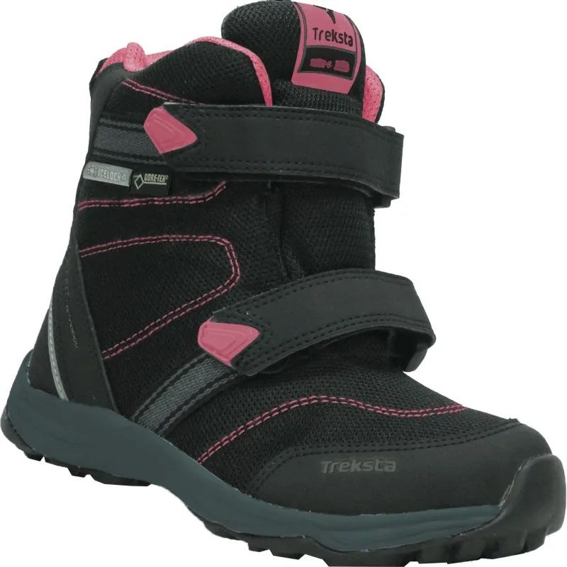 Treksta Run GTX High Vinterkänga, Black/Pink, 23
