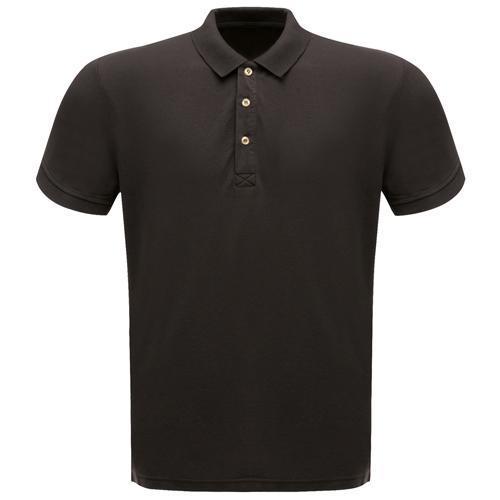 Regatta Men's Classic Polo Shirt Various Colours L_TRS145 - Black S