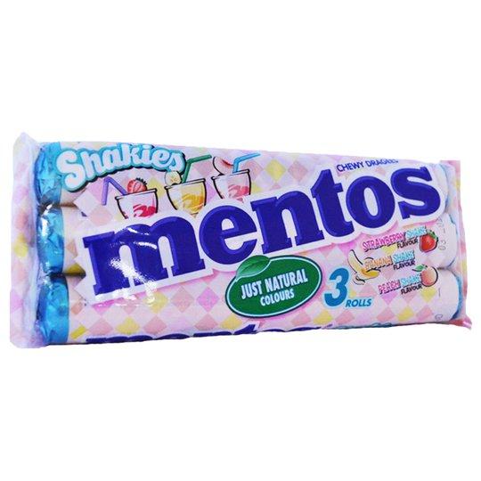"Mentos ""Shakies"" 3 x 37,5g - 29% rabatt"