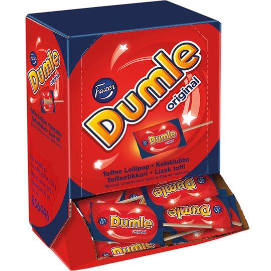 Dumle Toffeetikkarit 90kpl - 50% alennus