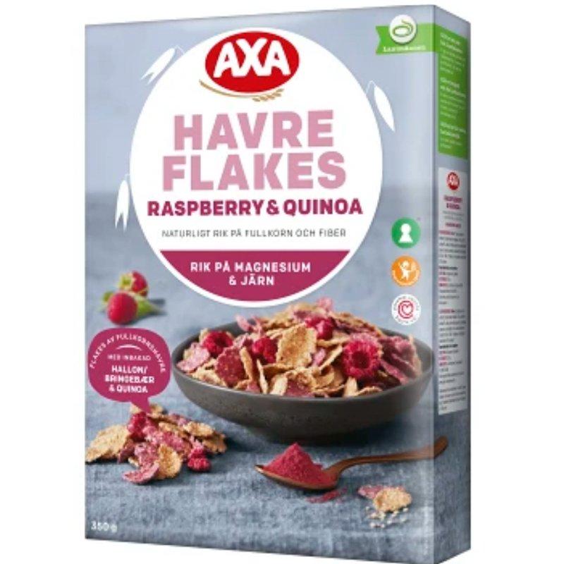 Havreflakes Hallon & Quinoa - 34% rabatt