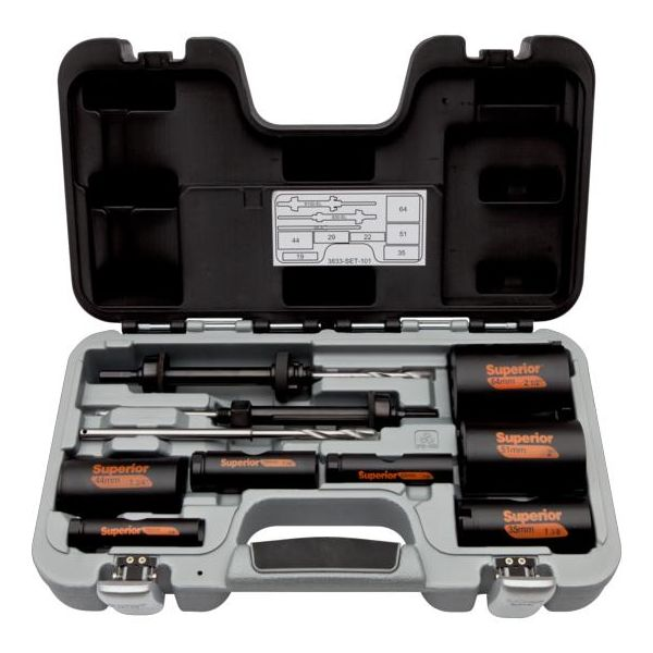Bahco 3833-SET-101 Superior Hullsagsett