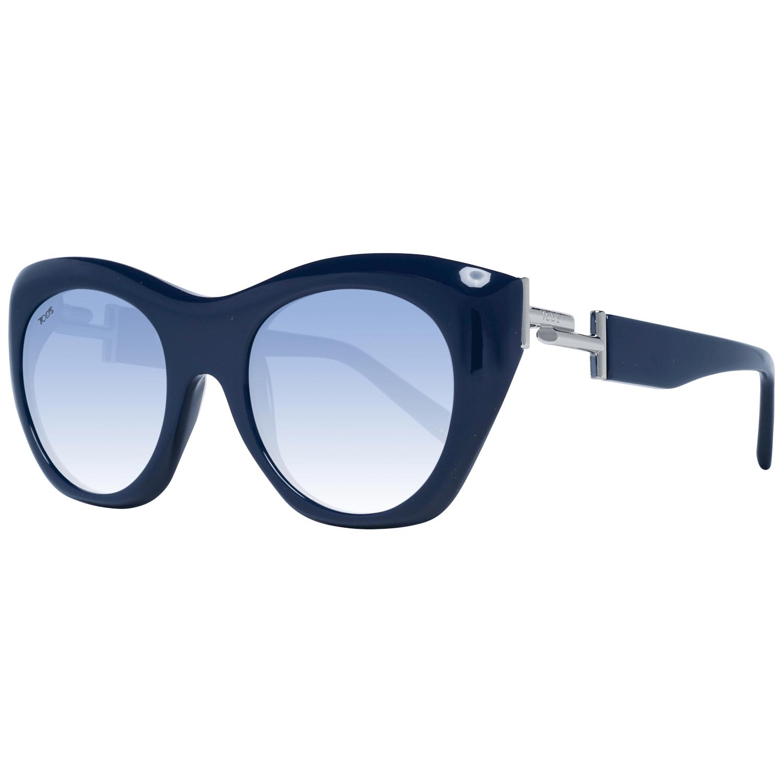 Tod's Women's Sunglasses Blue TO0214 5190W