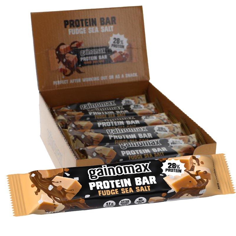 Proteinbars Fudge & Havssalt 15-pack - 33% rabatt