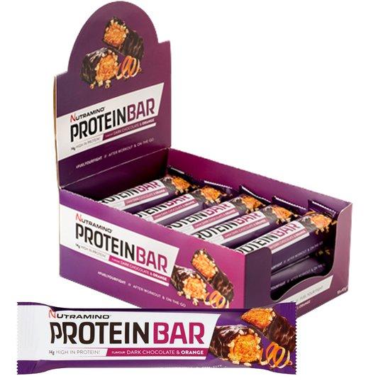 "Proteiinipatukoita ""Dark Choco & Orange"" 15x47g - 31% alennus"