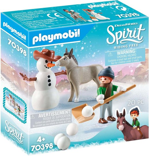 Playmobil 70398 Moro i snøen med Snips og Hr. Gulrot