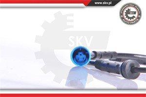 ABS-givare, Sensor, hjulvarvtal, Bak, Tvåsidig