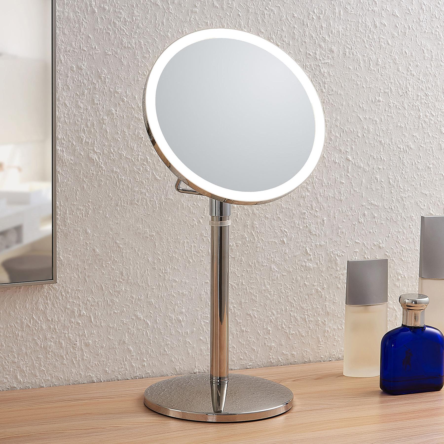 Lindby Farita -LED-meikkipeili