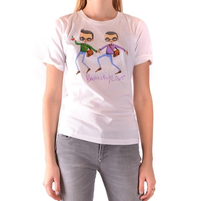 Dsquared Women's T-Shirt White 166064 - white M