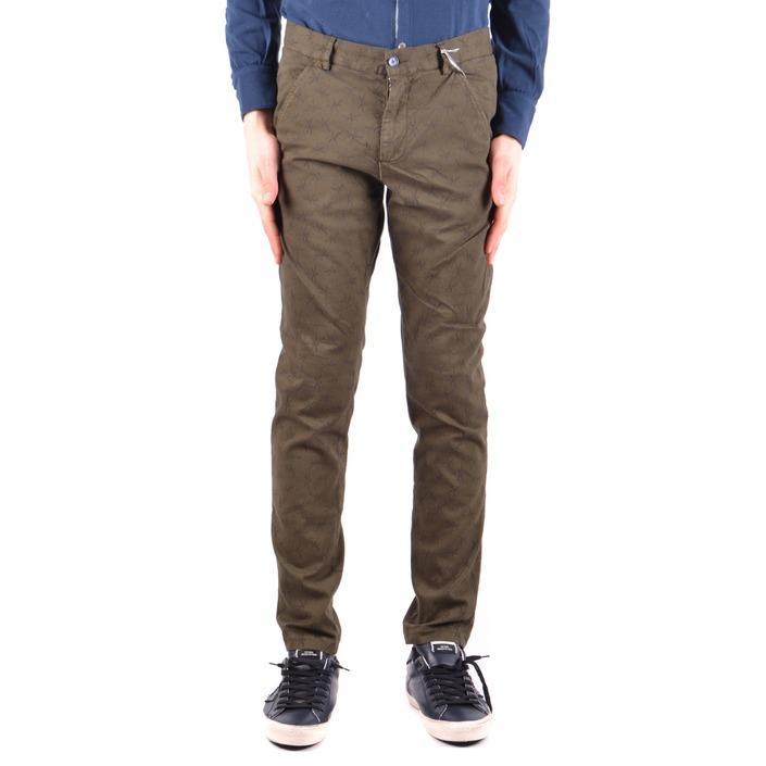 Daniele Alessandrini Men's Trouser Green 162955 - green 46