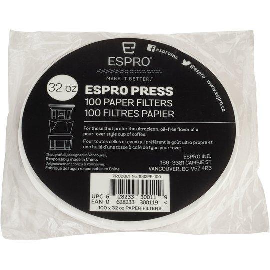 Espro 100 st. pappersfilter till 0,9 liter
